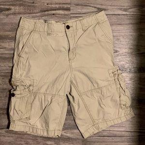 Men's Khaki Cargo Shorts Size 33